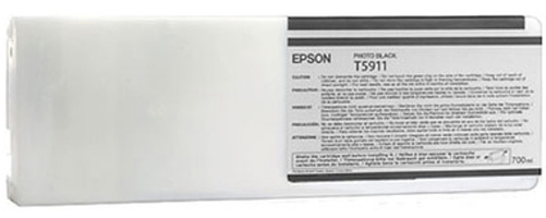 Фото - Epson T5911 Photo Black 700 мл (C13T591100) epson t6368 matte black 700 мл c13t636800