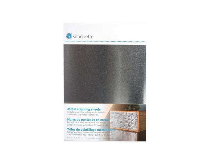 Металл точечного декорирования (12.7x17.8 см, 6 листов) для плоттеров Curio цена