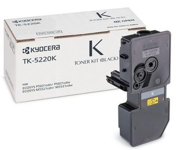 Тонер-картридж TK-5220K картридж kyocera tk 1200