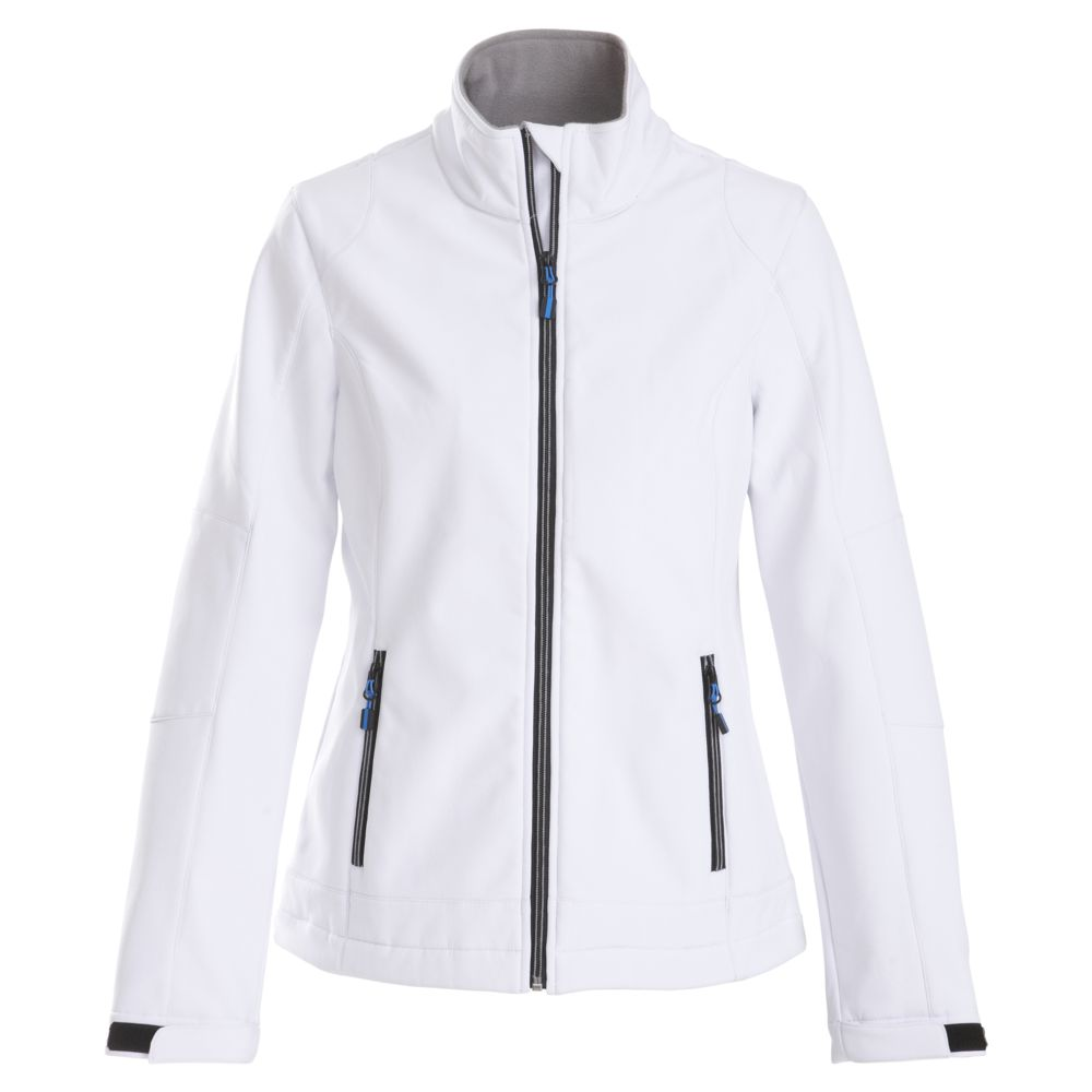 Куртка софтшелл женская TRIAL LADY белая, размер M фото