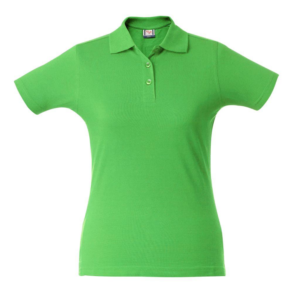 Рубашка поло женская SURF LADY зеленое яблоко, размер XL фото