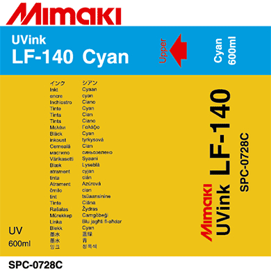 Фото - Чернила Mimaki LF-140 SPC-0728C Cyan чернила mimaki lf 140 spc 0728lc light cyan