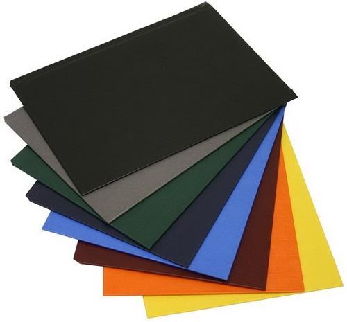 Твердые обложки O.HARD COVER Classic 304x212 мм с покрытием «ткань» без окна, синие фото