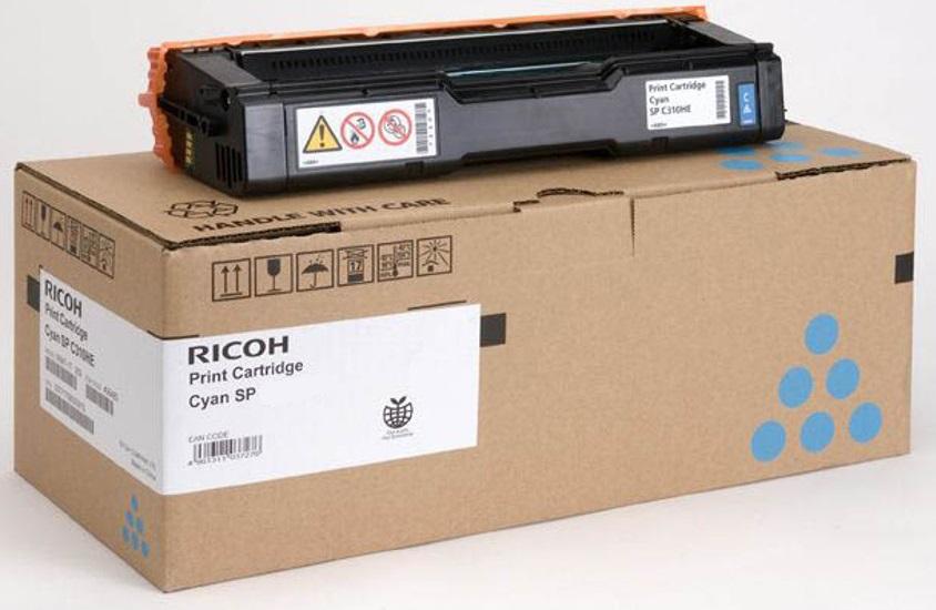 Принт-картридж Ricoh SP C360X голубой картридж ricoh sp c252e для sp c252dn c252sf голубой 4000стр 407532