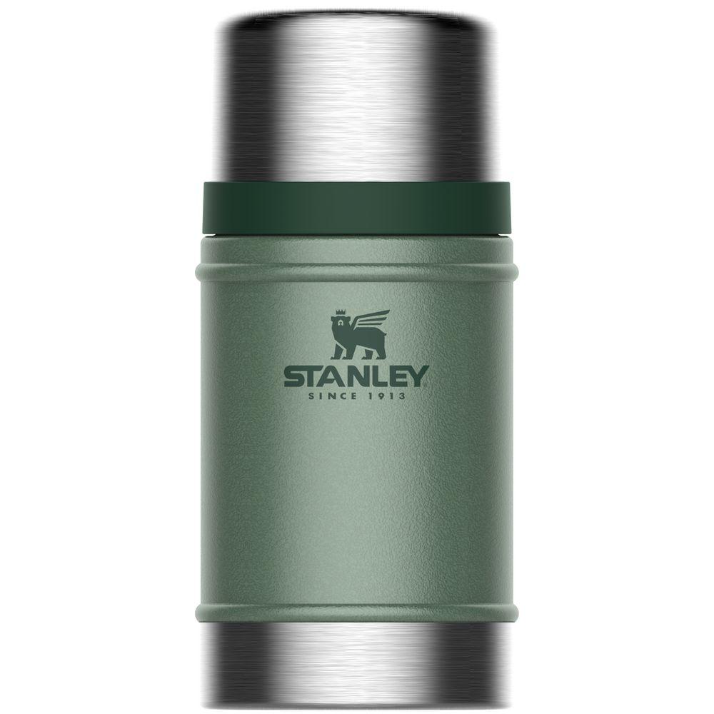 Термос для еды Stanley Classic 700, темно-зеленый рюкзак eqt classic темно зеленый