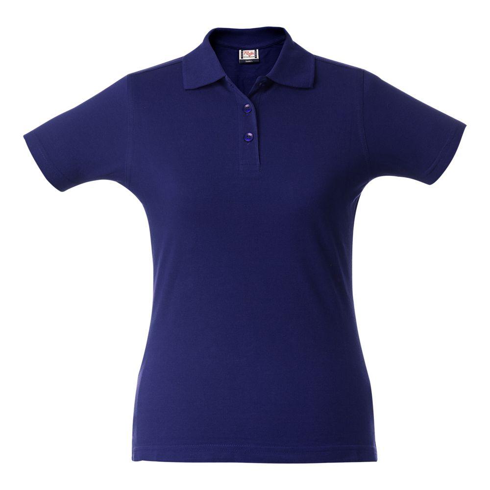 Рубашка поло женская SURF LADY синяя, размер S фото