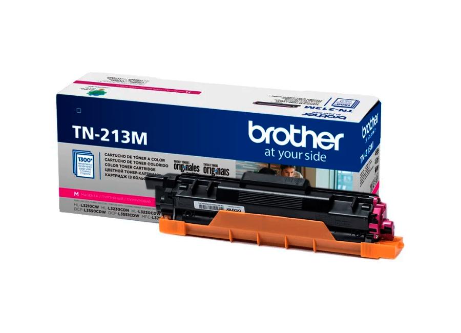Фото - Тонер-картридж повышенной емкости Brother TN-213M (TN213M) тонер картридж повышенной емкости тип im c2500h жёлтый
