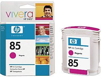 HP Vivera 85 Magenta 28 мл (C9426A) hp 85 c9421a magenta