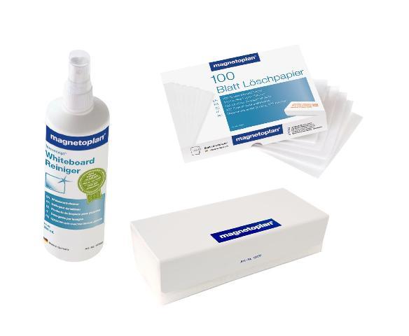 Фото - Набор чистящих средств для досок (стиратель, салфетки, спрей) набор для специй солонка и перечница regent promo