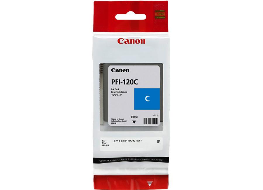 Фото - Canon PFI-120 Cyan 130 мл (2886C001) картридж струйный canon pfi 120 mbk 2884c001 черный матовый 130мл для canon imageprograf tm 200 205
