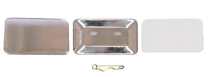 Заготовки для значков 37х58 мм, булавка, 100 шт заготовки для значков 37х58 мм винил магнит 100 шт