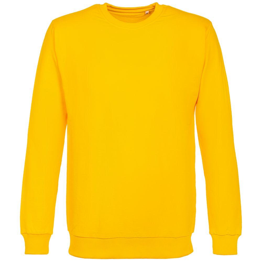 Толстовка Unit Toima, желтая, размер L фото