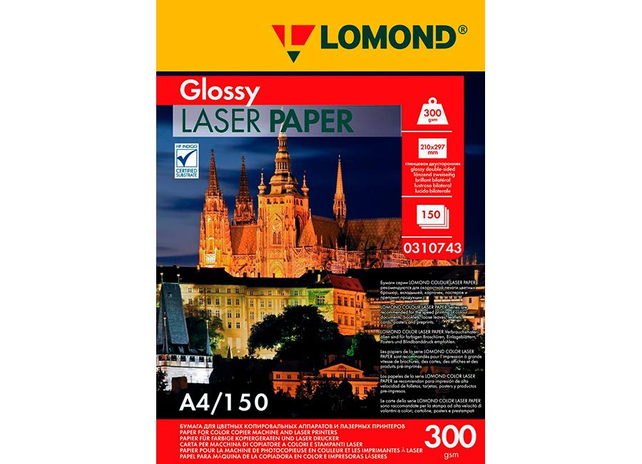 Фото - Lomond CLC DS Glossy A4, 300 г/м2, 150 листов (0310743) lomond matt ds color laser paper матовая а3 300 г м2 150 листов 0300731