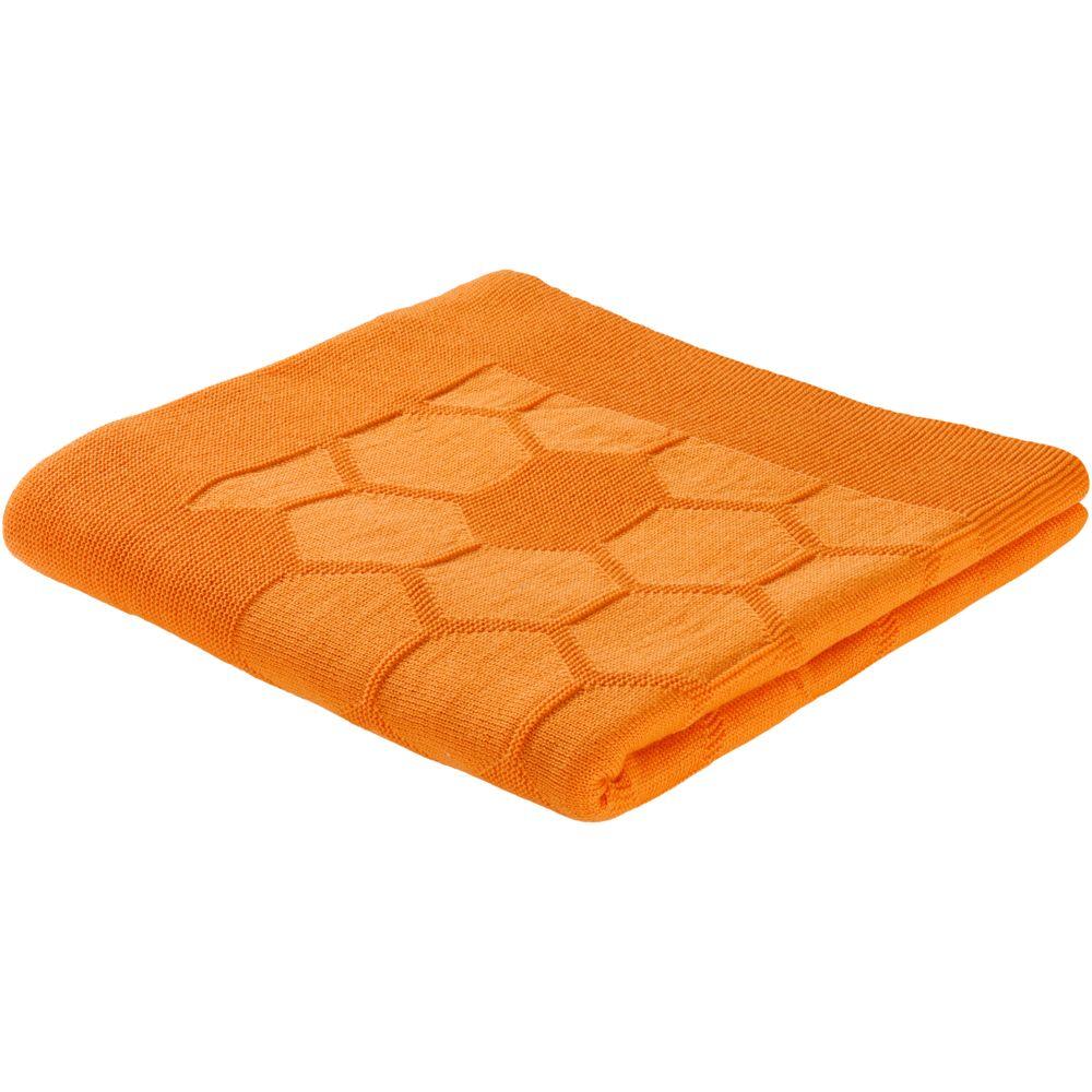 Плед Laconic, оранжевый