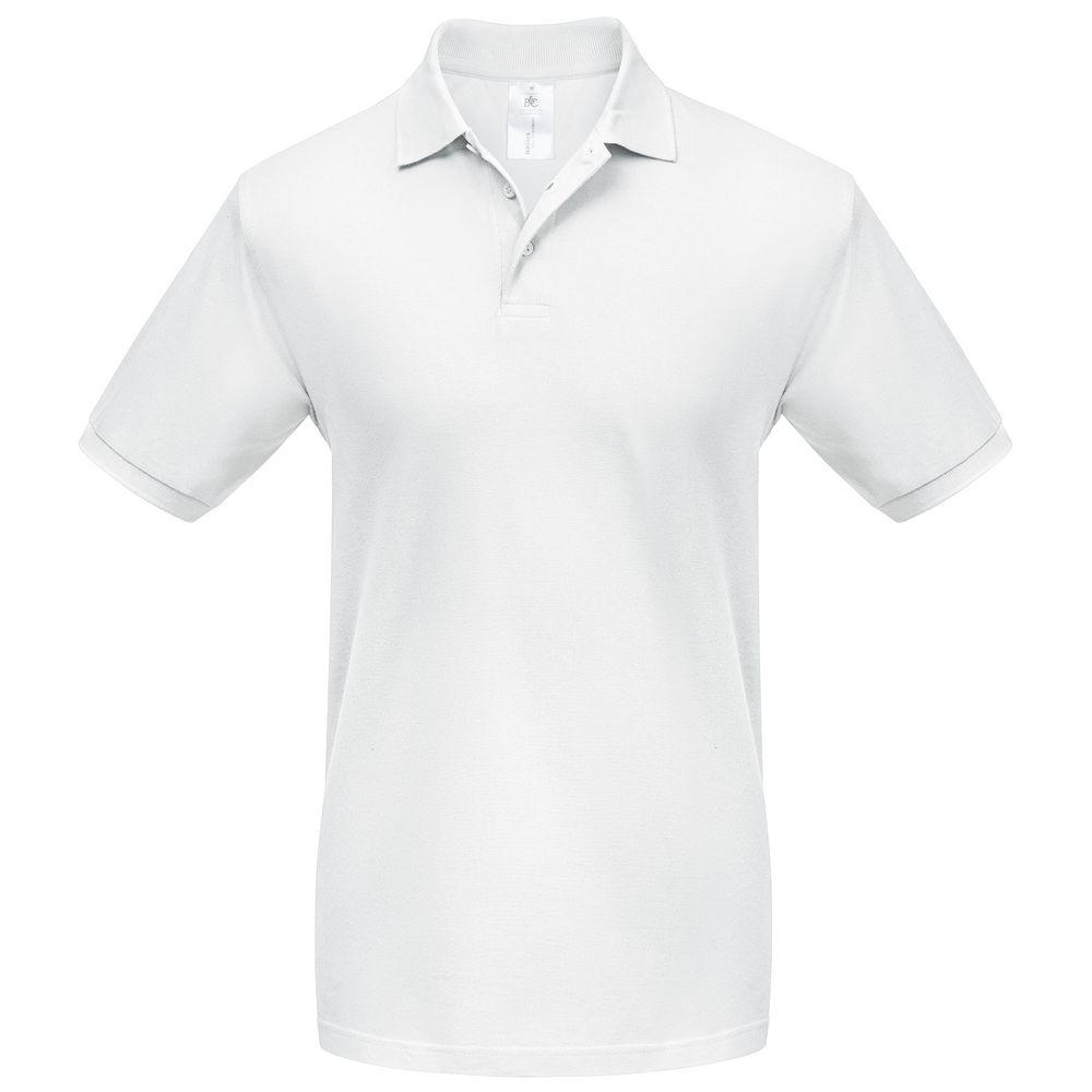 Фото - Рубашка поло Heavymill белая, размер S рубашка поло heavymill серый меланж размер xl