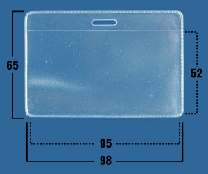 Фото - Карман мягкий прозрачный IDR01 внешний аккумулятор pb 6001 голубой 6000 мач