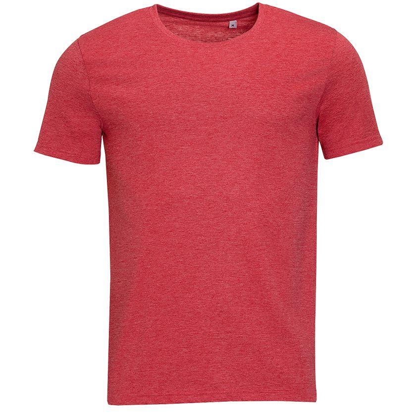 цена на Футболка мужская MIXED MEN, красный меланж, размер M