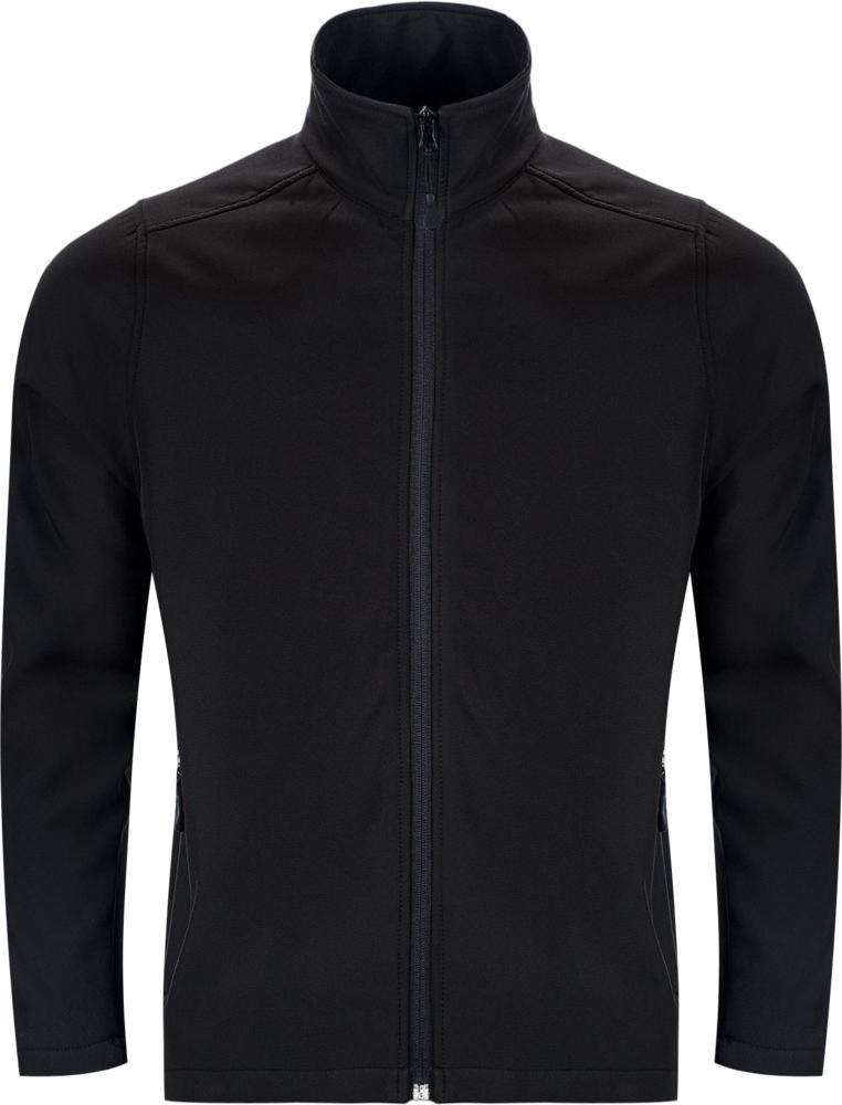Куртка софтшелл мужская RACE MEN черная, размер S недорого