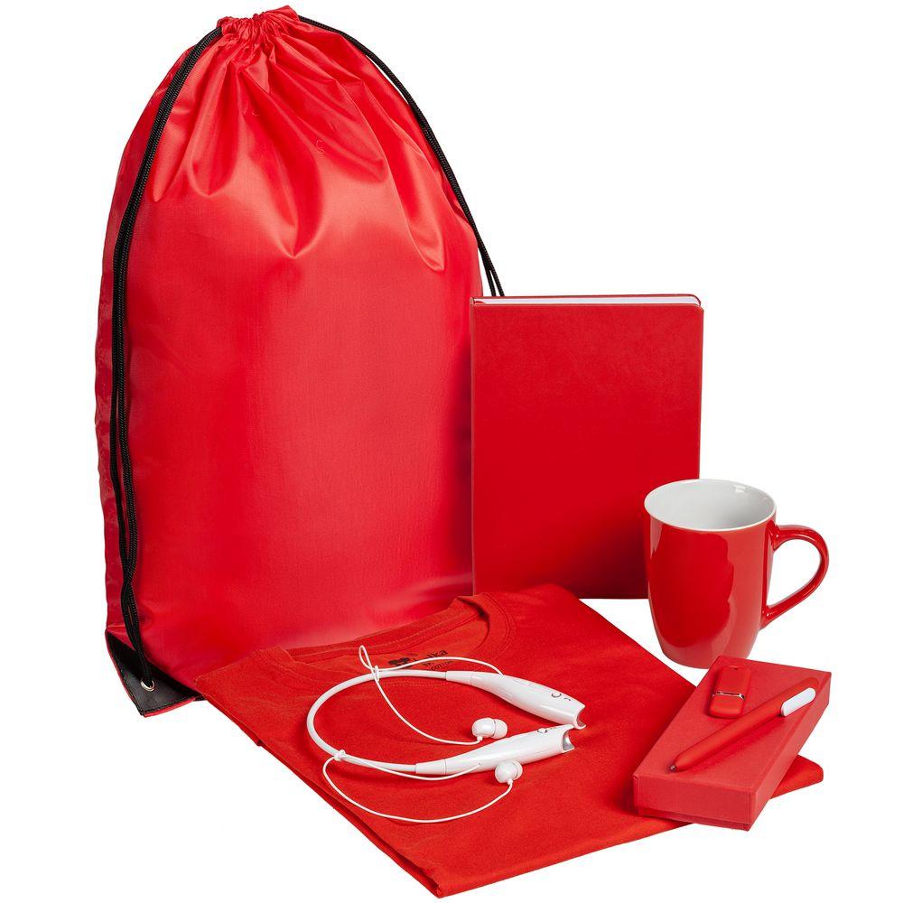 Набор Welcome Kit, красный, размер L