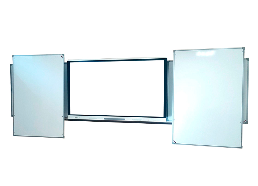 4-х секционная с встроенными горизонтальными направляющими