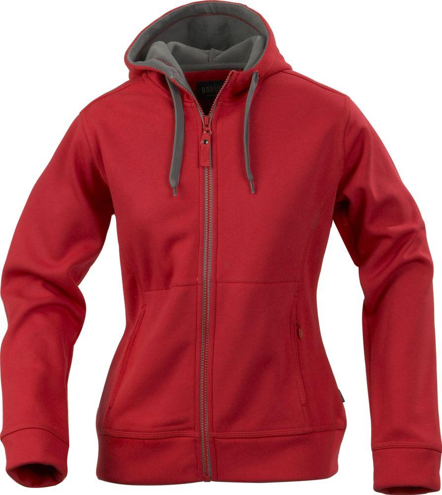 Толстовка женская MOLINE, красная, размер S толстовка hooded красная размер s