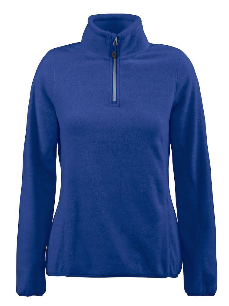 Толстовка флисовая женская Frontflip синяя, размер M женская толстовка хлопок queen m