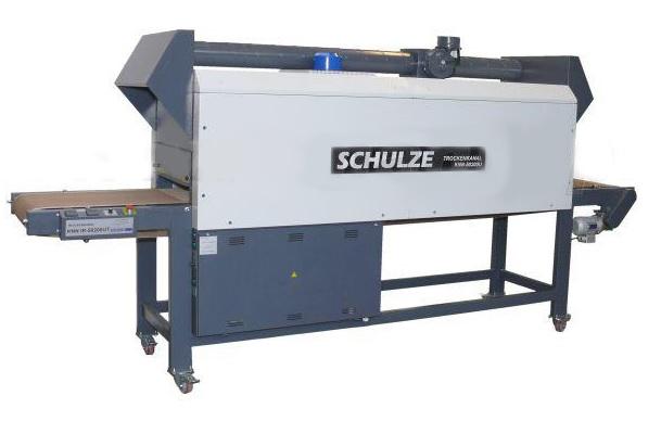 Туннельная ИК универсальная сушилка Schulze 96400UT