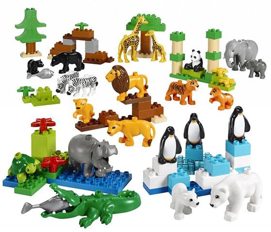 Дикие животные Duplo фигурки дикие животные бегемоты 2 шт oem1234416 kari