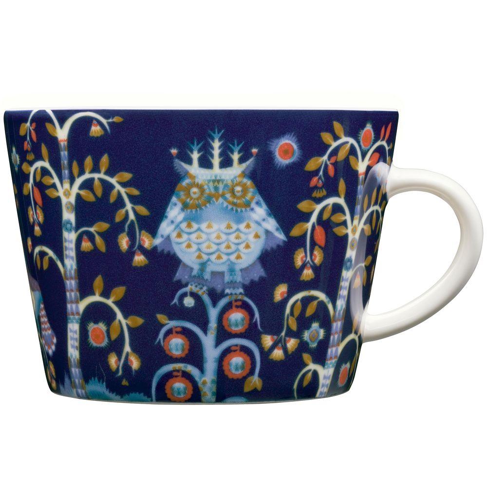 Чашка кофейная Taika, синяя чашка кофейная teema белая