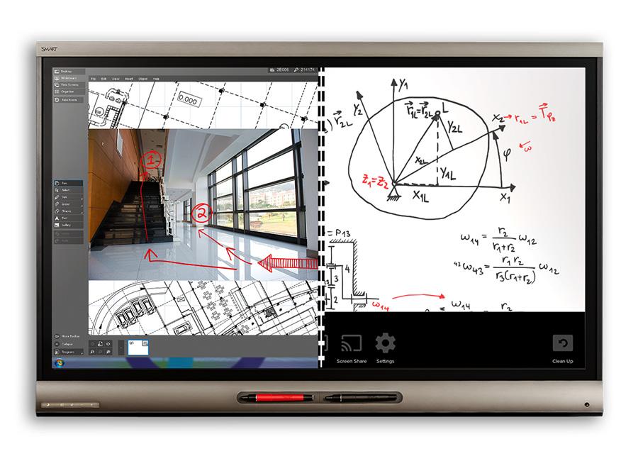 Board SPNL-6265P interactive flat panel (в составе интерактивной панели SBID8065i-G5-SMP-V2 и встраиваемого компьютера AM30ENT) с технологией iQ и Meeting Pro spnl 4084 interactive flat panel с ключом активации notebook