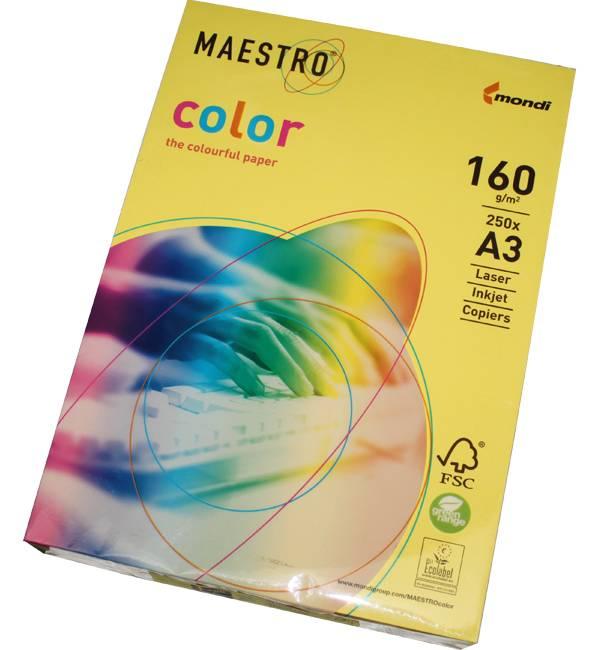 Фото - Maestro Color 160 г/м2, 297x420 мм пастель color copy 300 г м2 297x420 мм