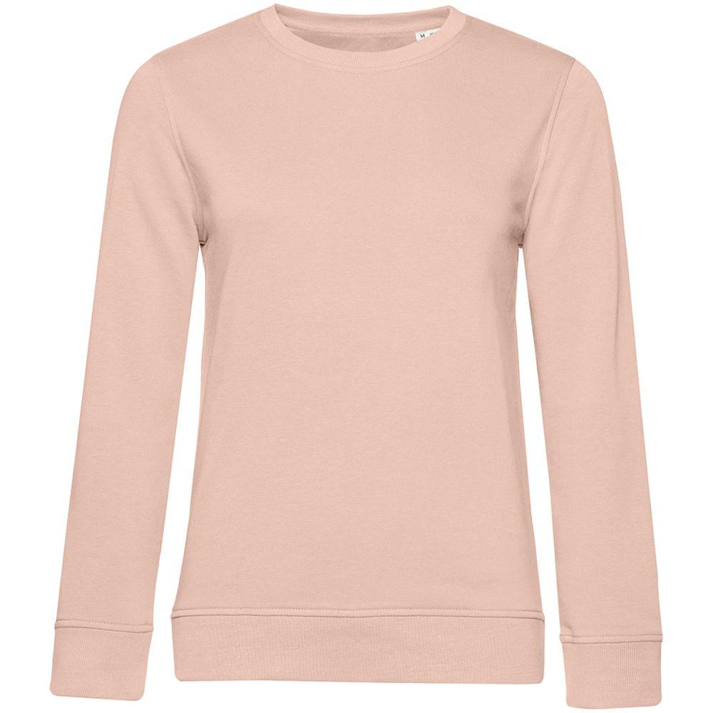 Свитшот женский BNC Organic, розовый, размер XS