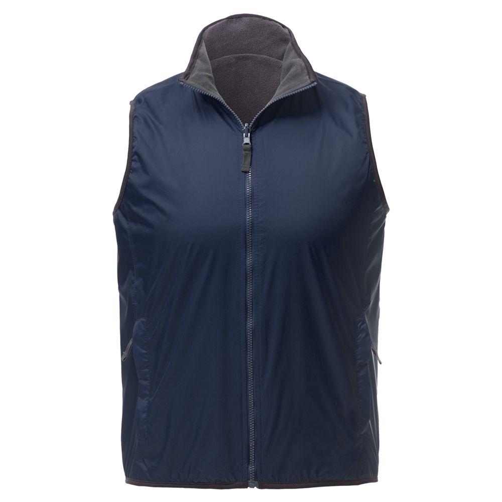 Жилет двусторонний WINNER, темно-синий, размер M платье bello belicci цвет темно синий dla3 9 размер s m 42 46