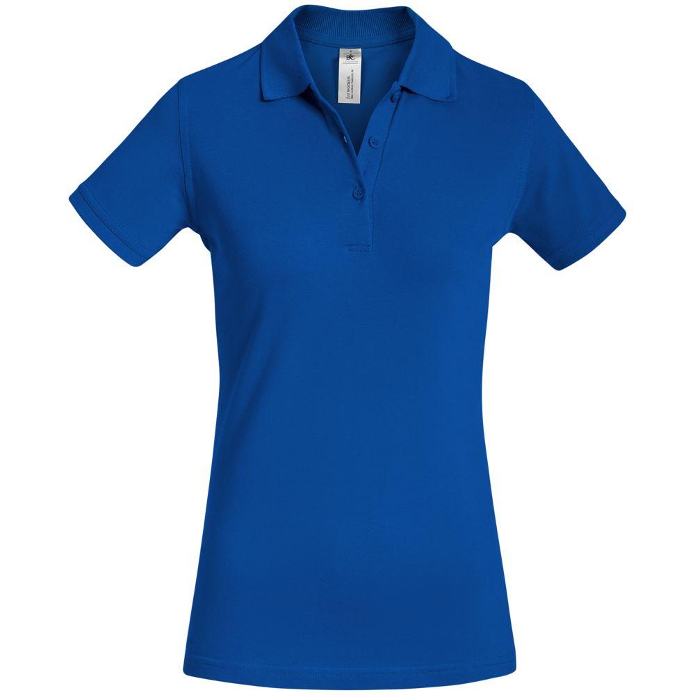 Рубашка поло женская Safran Timeless ярко-синяя, размер L