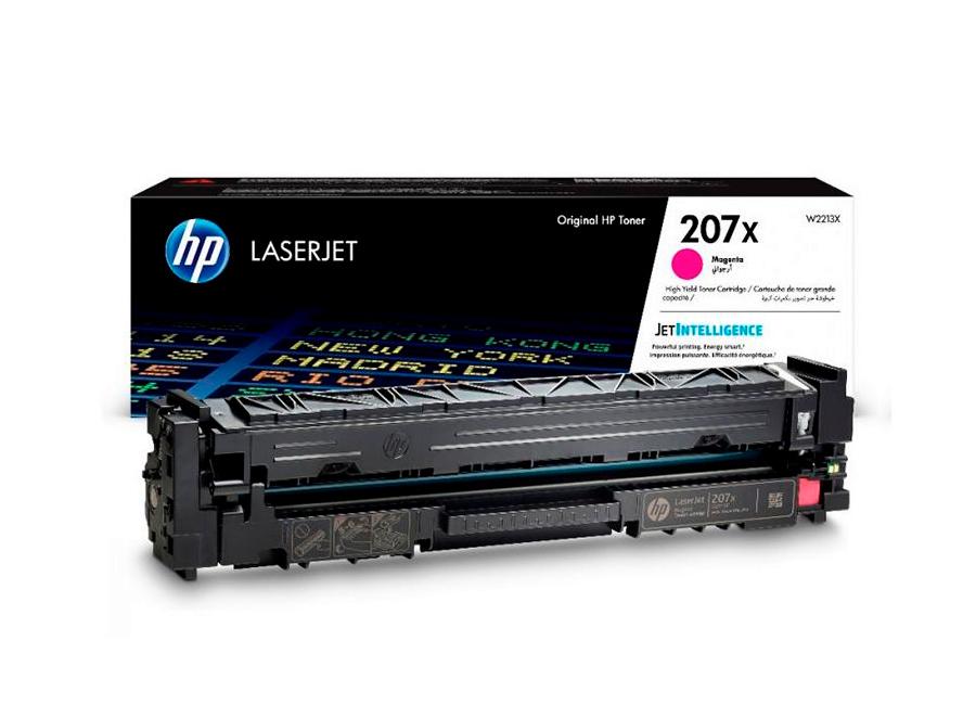 Фото - Картридж HP 207X пурпурный, 2450 стр. (W2213X) картридж лазерный hp 659x w2013x пурпурный