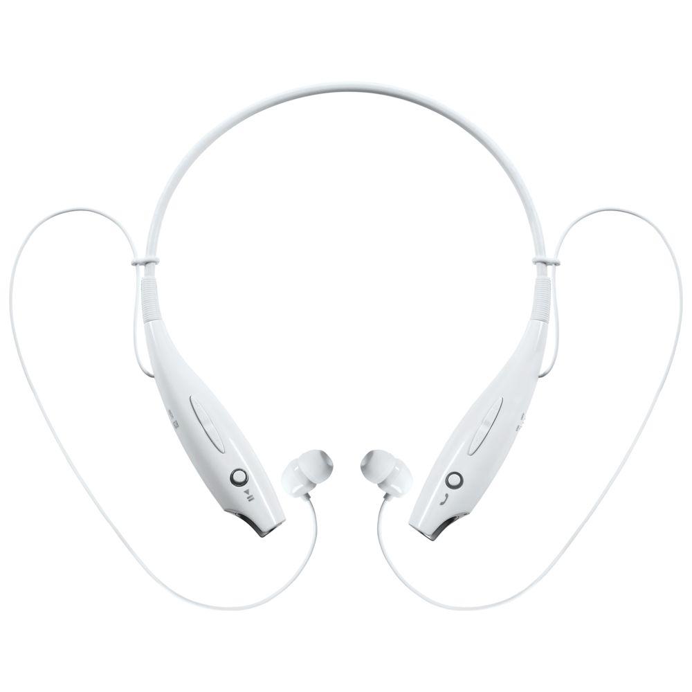 Фото - Bluetooth наушники stereoBand, белые bluetooth