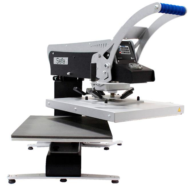 Фото - SEFA Rotex Pro стол с роликами для термопрессов sefa серий eclam clam rotex logo tab 98 lite r