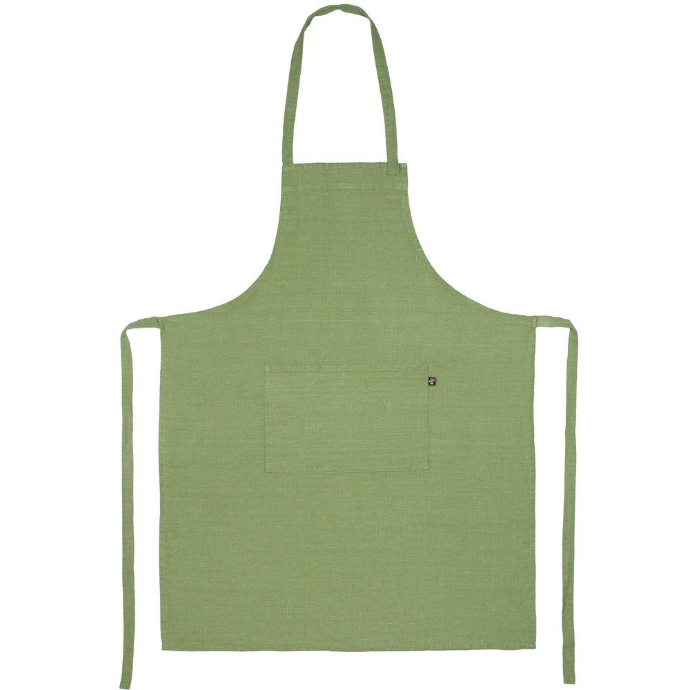 Фартук Fine Line, зеленый набор полотенец fine line красный
