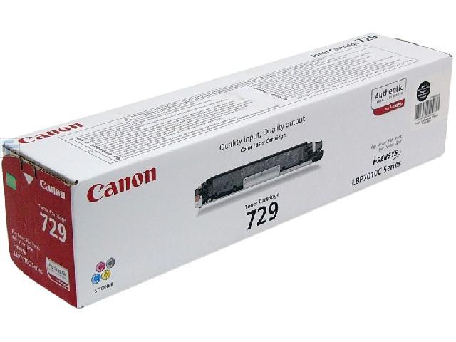 Фото - Тонер-картридж Canon 729 (4370B002) canon 729 черный