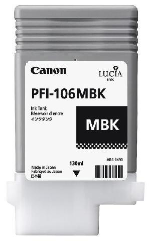 Фото - Canon PFI-106MBK Matte Back 130 мл (6620B001) l a girl matte pigment gloss fleur матовый пигмент для губ 5 гр