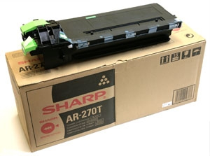 Фото - Тонер-картридж Sharp AR-270T тонер картридж sharp mx31gtba черный 18 000 страниц