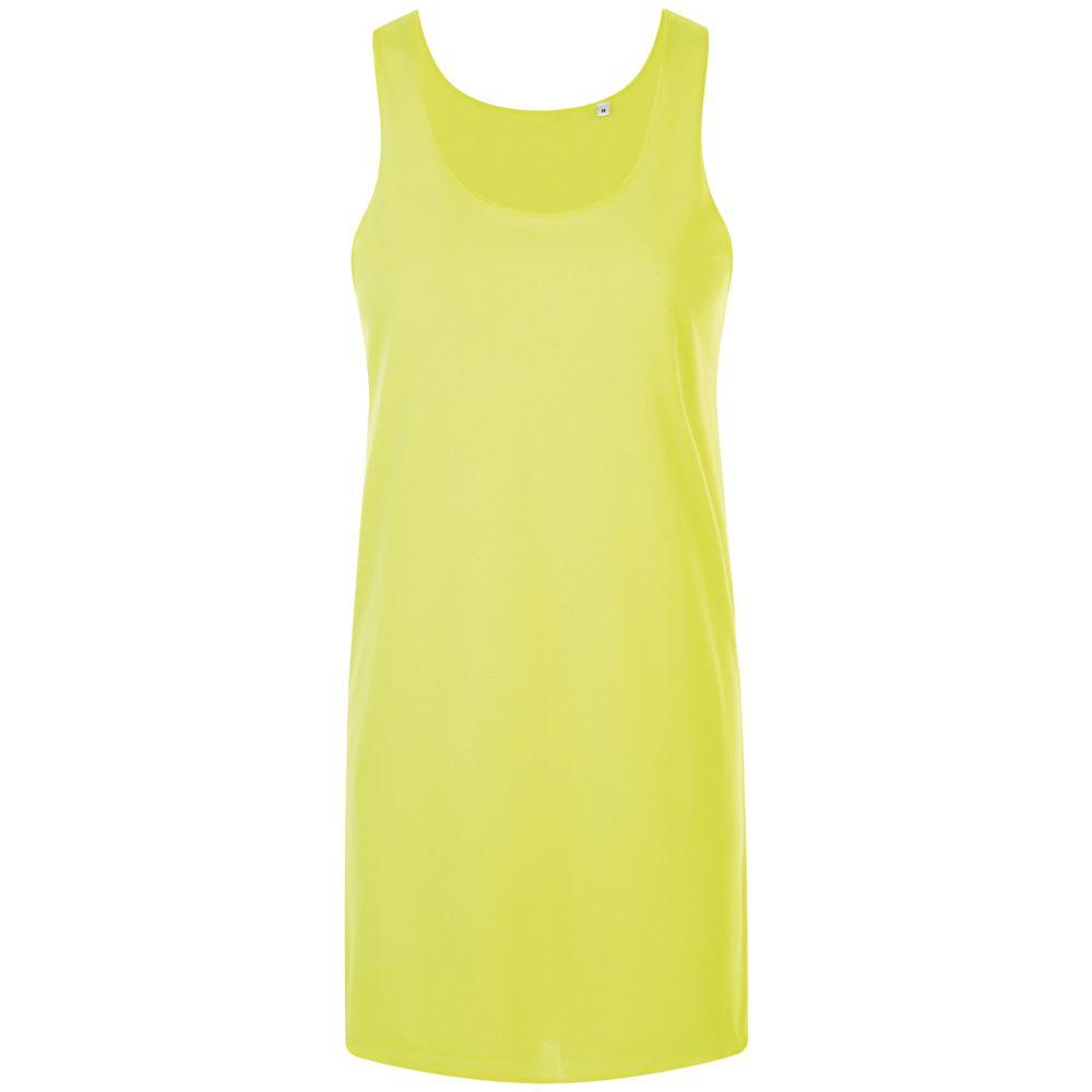 Фото - Платье-футболка COCKTAIL желтый неон, размер XL/XXL платье oodji collection цвет карамель 24001104 5b 47420 4b00n размер xl 50
