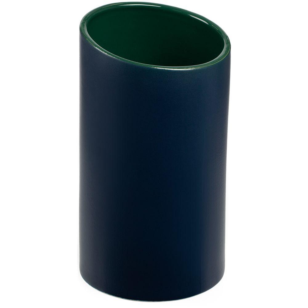 цена на Ваза Form Fluid, средняя, сине-зеленая