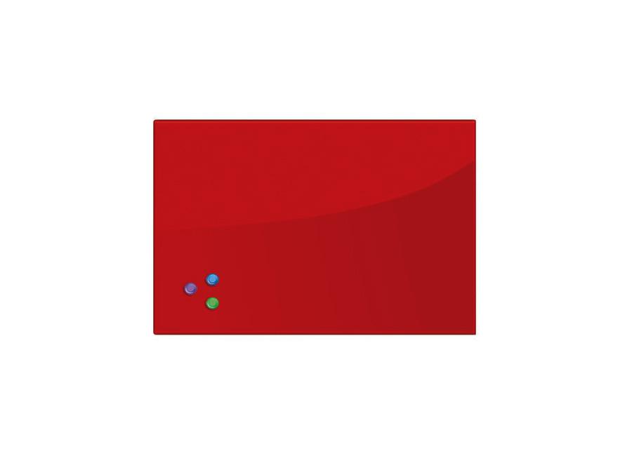 Фото - 45x60 см, красная, 3 магнита (236746) самокат кикборд novatrack disco kids детский 3 колесный 120sb discokids rd9 красный