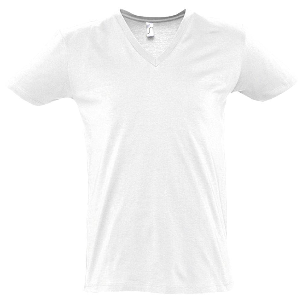 Футболка мужская с глубоким V-обр. вырезом MASTER 150, белая, размер M футболка мужская с глубоким v обр вырезом master 150 красная размер m