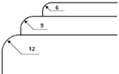 Сменный нож для Cyklos UCR-9 (550 45 498) фото