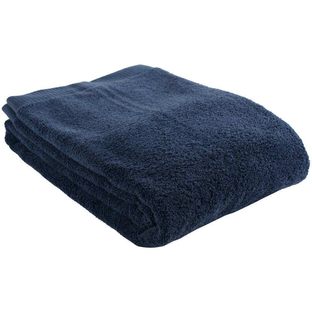 Полотенце Essential, среднее, темно-синее