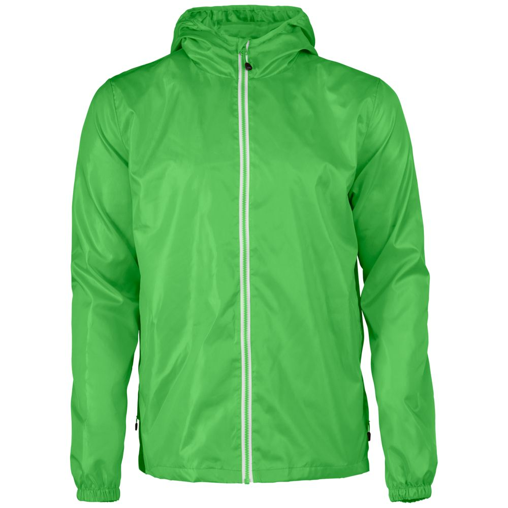 Ветровка мужская FASTPLANT зеленое яблоко, размер S ветровка мужская helly hansen crew hooded jacket цвет синий 33875 597 размер s 46