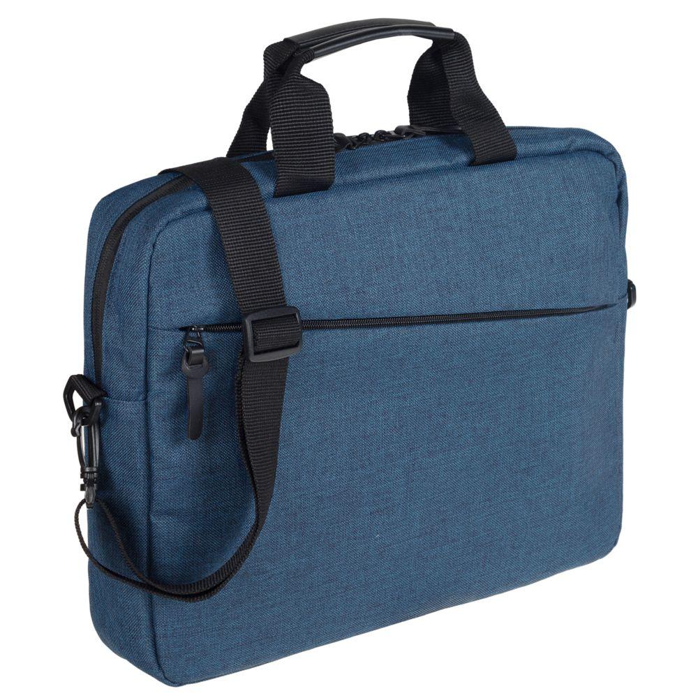 Сумка для ноутбука Burst, синяя рюкзак для ноутбука burst argentum серый с темно серым