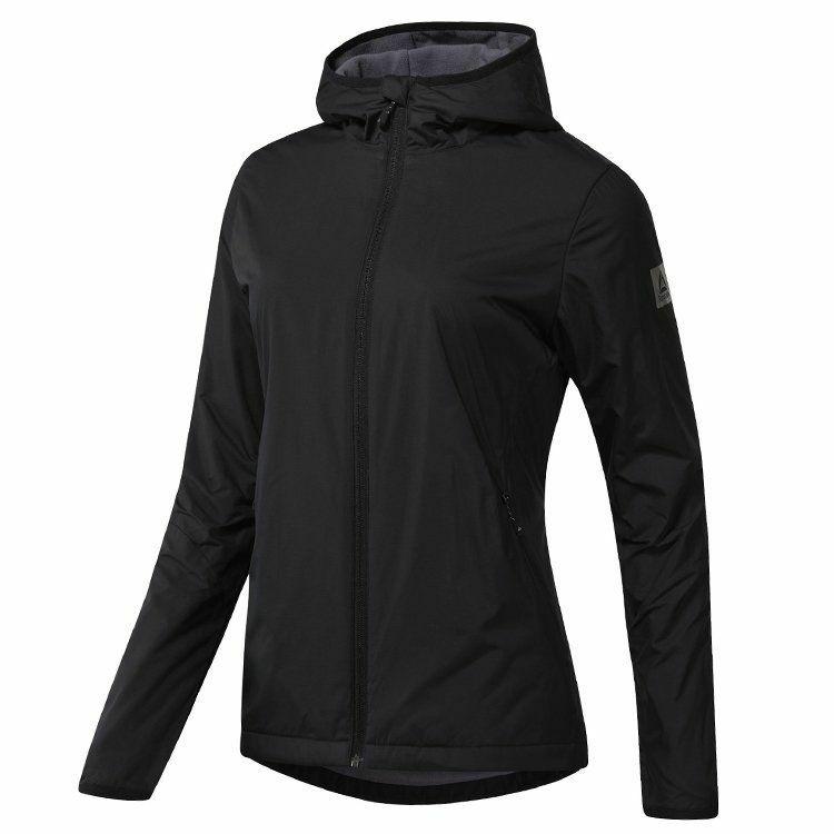 Куртка женская Outdoor с флисовой подкладкой, черная, размер S